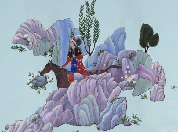 Индиа Мадави и персидская миниатюра