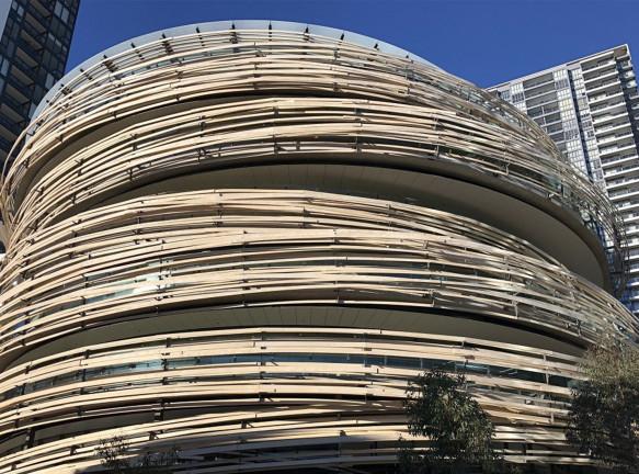 Кенго Кума построил свое первое здание в Австралии
