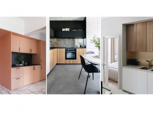 Дизайн кухни-гостиной в маленькой квартире: 5 планировок
