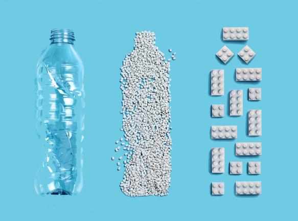 LEGO разрабатывает детали из переработанного пластика