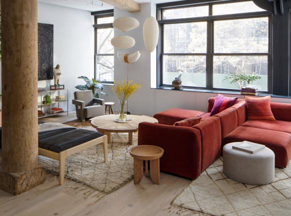 Семейный лофт в Нью-Йорке по проекту Worrell Yeung и Джин Лин