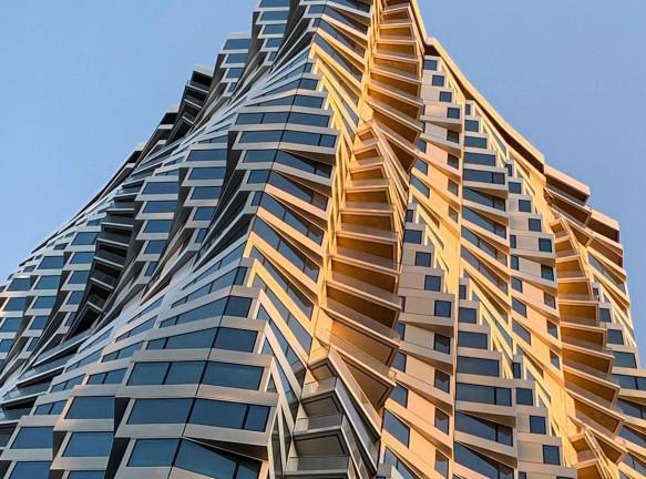 Энергоэффективный небоскреб в Сан-Франциско по проекту Studio Gang