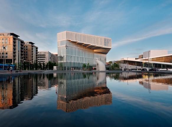 Центральная библиотека Осло по проекту Аtelier Oslo and Lundhagem