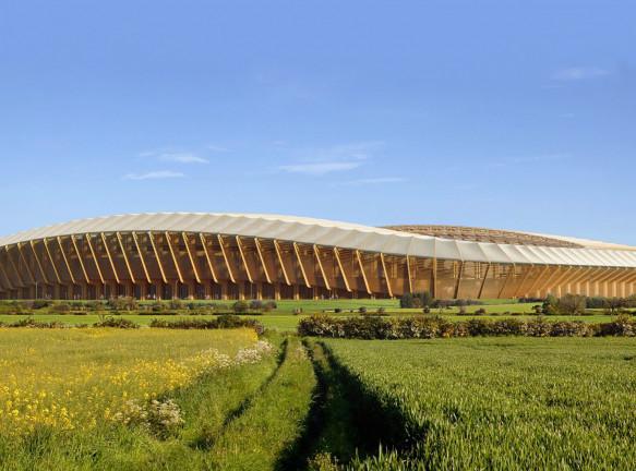 Zaha Hadid Architects построят самый экологичный стадион в мире