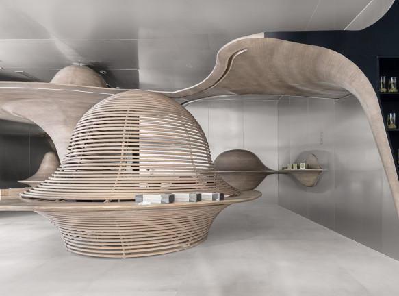 Чайный магазин по проекту X + Living