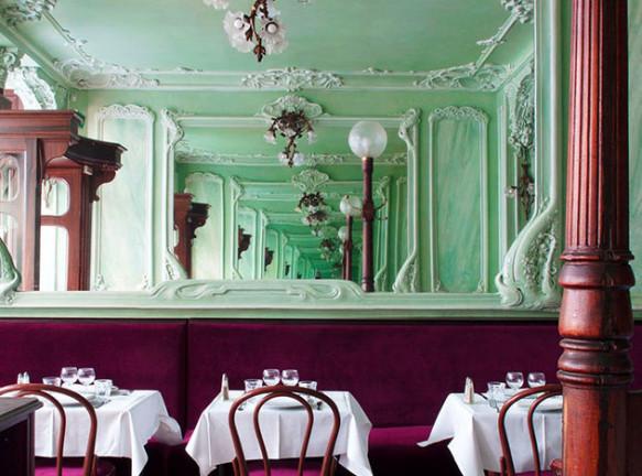 Ресторан в Париже по проекту лондонского дизайнера