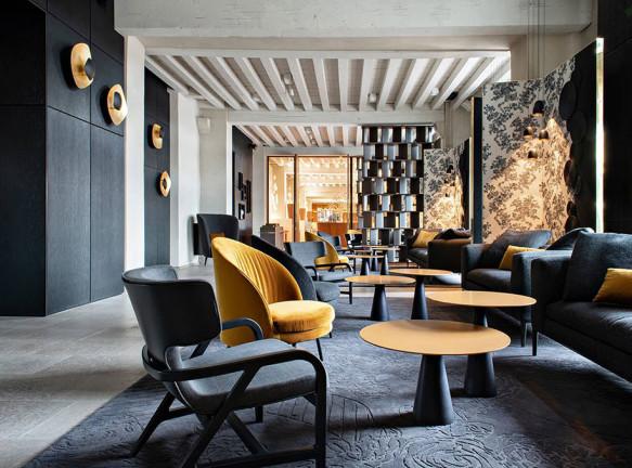 В Лионе открылся грандиозный отель по проекту Жан-Филиппа Нуэля