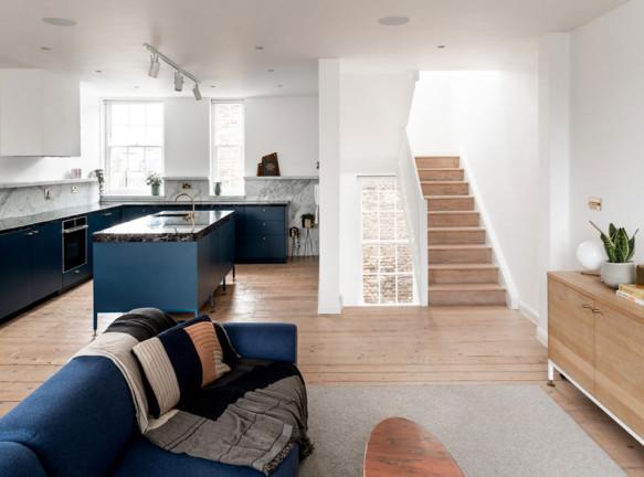 Австралийская студия Biasol перепланировала дом в Лондоне