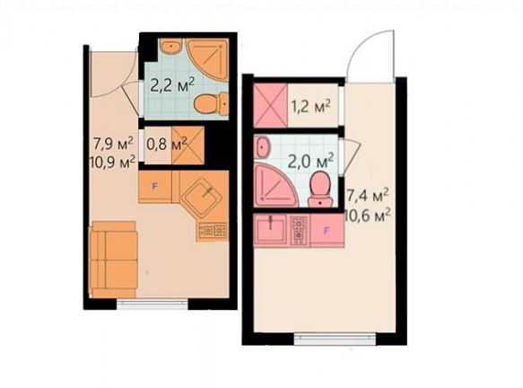 В Москве можно купить новую квартиру площадью 11 кв. метров