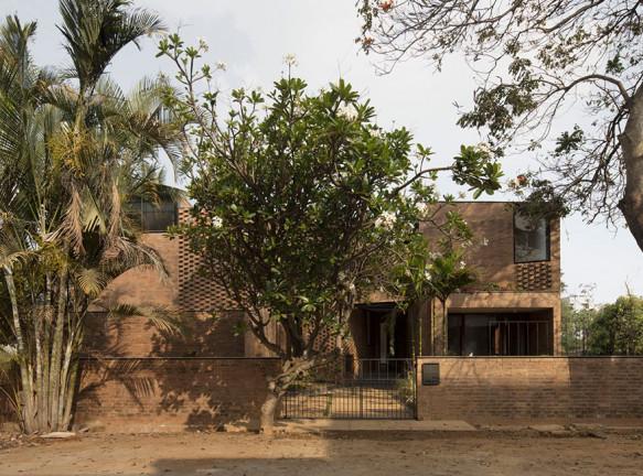 Кирпичный дом в Бангалоре