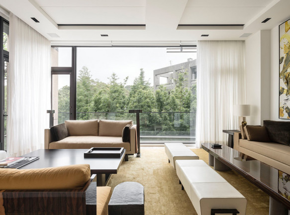 Валери Ростен: дом для коллекционера в Тайбее