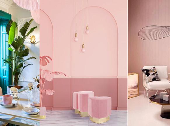 Розовый в интерьере: 4 приема, 25 примеров