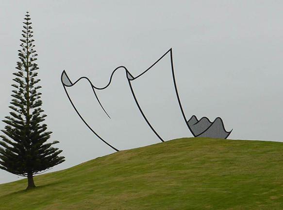 Ферма Гиббса: парк скульптур в Новой Зеландии