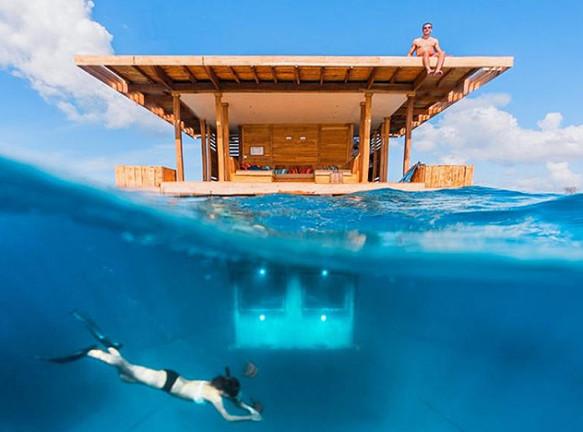 Manta Resort: подводная спальня в Индийском океане
