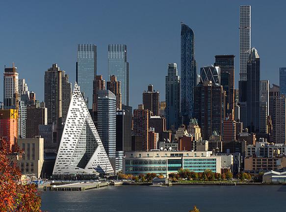 Bjarke Ingels Group: американский небоскреб с европейским садом