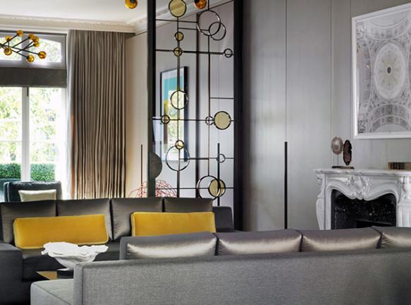 Архитектор Рабиг Хейдж перестроил особняк в Лондоне