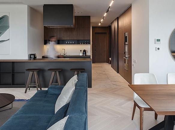 Проект SVOYA studio в городе Днепр: одна квартира вместо двух