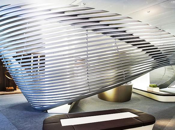 Заха Хадид (Zaha Hadid): роскошные кольца и браслеты для Georg Jensen