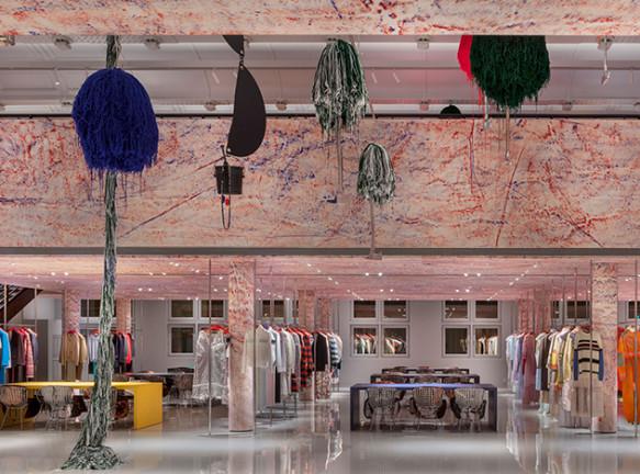 Штаб-квартира Calvin Klein в Париже