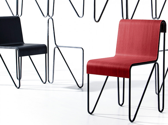 Cassina выпускает стул по эскизам из архива Ритвельда