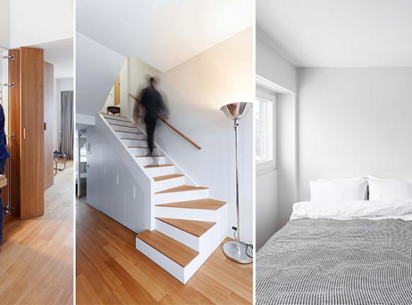 Studio Bazi: двухэтажная квартира в знаменитом московском доме