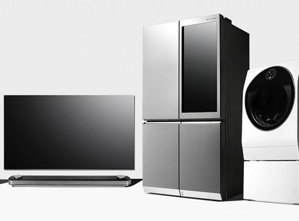 LG SIGNATURE: «умная» техника для стильного интерьера