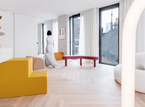 Квартира Standard Arts в небоскребе Дэвида Чипперфильда