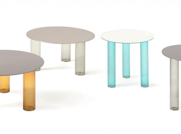 Себастьян Херкнер: стеклянная мебель для Zanotta