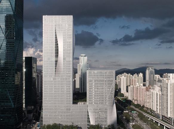 BIG: два «зеленых» небоскреба в Шеньчжене