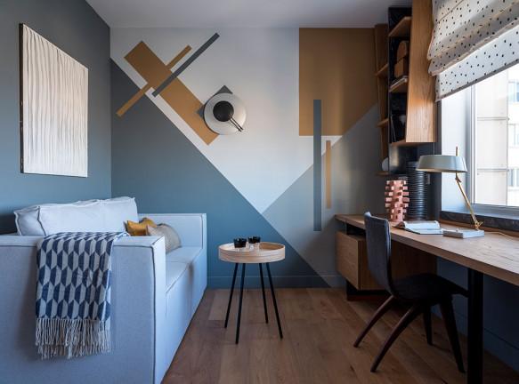 Екатерина Бегичева: холостяцкая квартира с винтажной мебелью