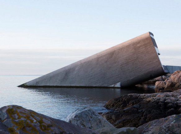 Snøhetta: первый подводный ресторан в Европе