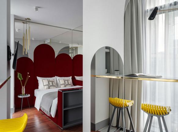 Юлия Каманина и Анастасия Сизова: апарт-отель в Москва-Сити