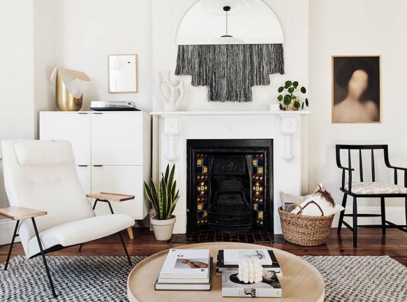 Временный дом дизайнера Шины Мерфи в Лондоне