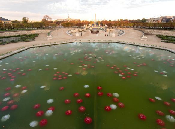 Выставка современной скульптуры в Париже