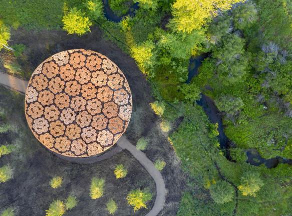 Деревянный павильон по проекту Франсиса Кере