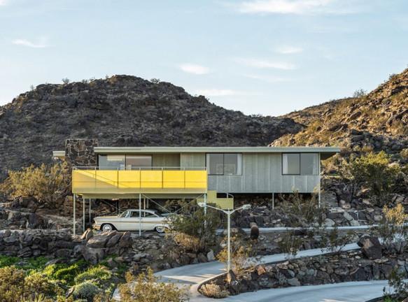 Дом по проекту Альберта Фрея в Калифорнии