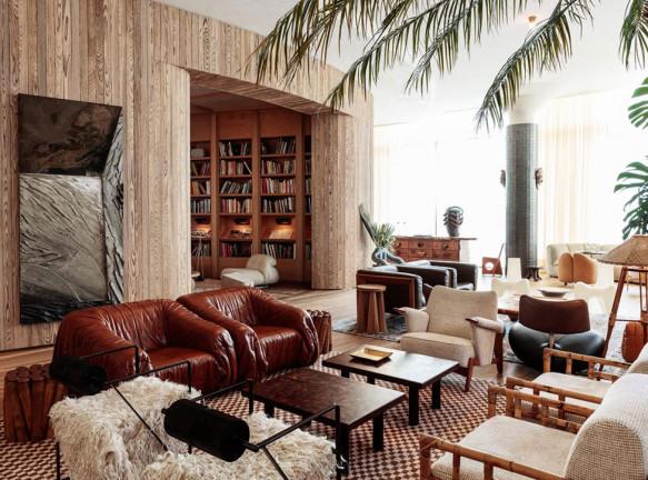 Келли Уэстлер оформила отель в Санта-Монике