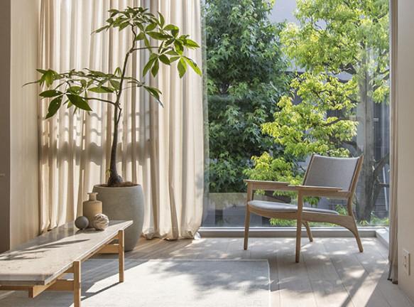 Квартиры в Токио: японский и датский дизайн вместе