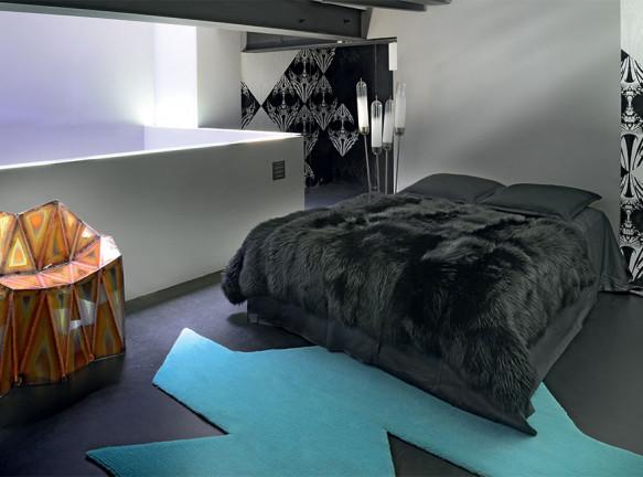 Армель Сойе: квартира галериста в Париже