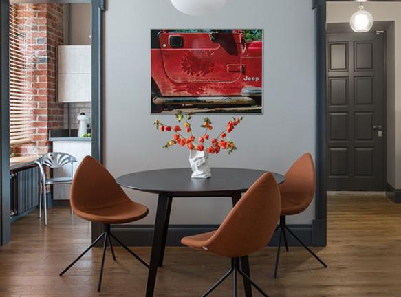 PropertyLab+art: возрождение квартиры на Патриарших