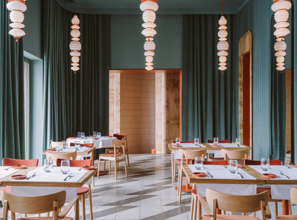 Ресторан в Варшаве по проекту Buck.Studio
