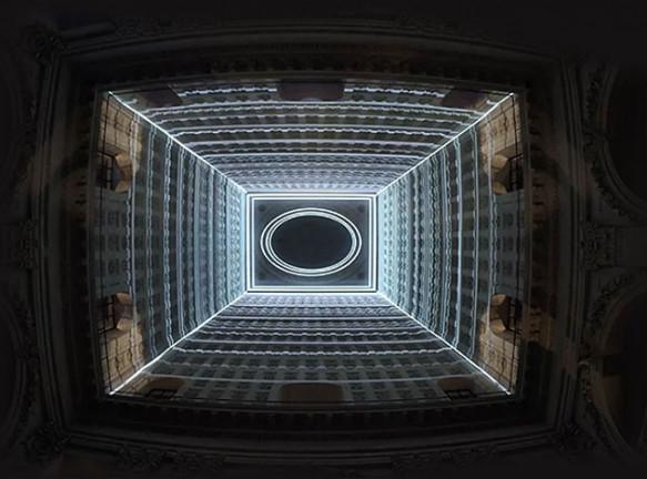 Tetro: цифровое искусство под куполом лионского отеля