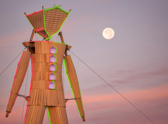 Фестиваль Burning Man 2020 проходит онлайн