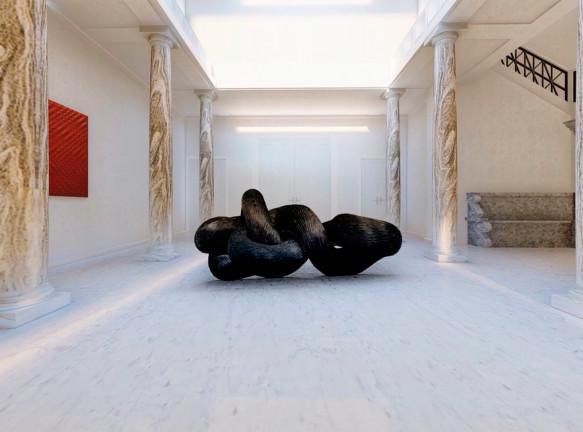 The Eye of the Huntress: виртуальная выставка современного искусства