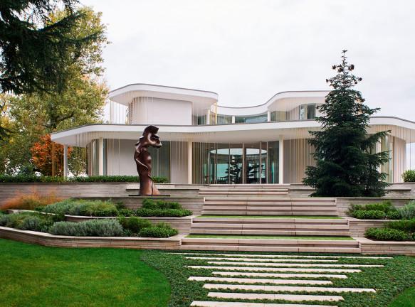 Design Haus Liberty: вилла на итальянском побережье