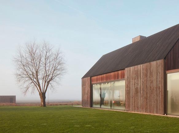Govaert & Vanhoutte Architects: дом в бывшей крепости в Бельгии