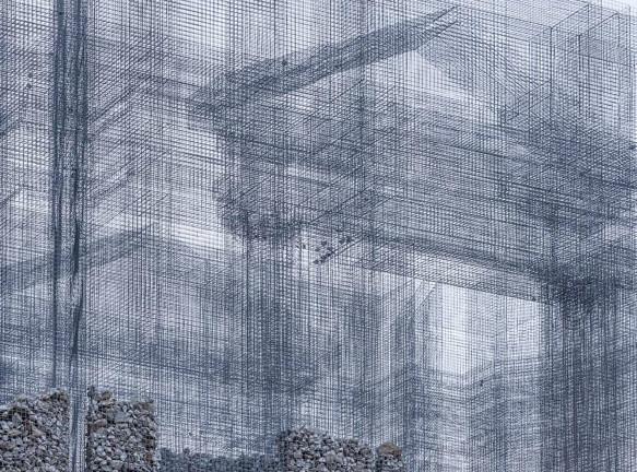 Эдоардо Трезольди: инсталляция для парка скульптур