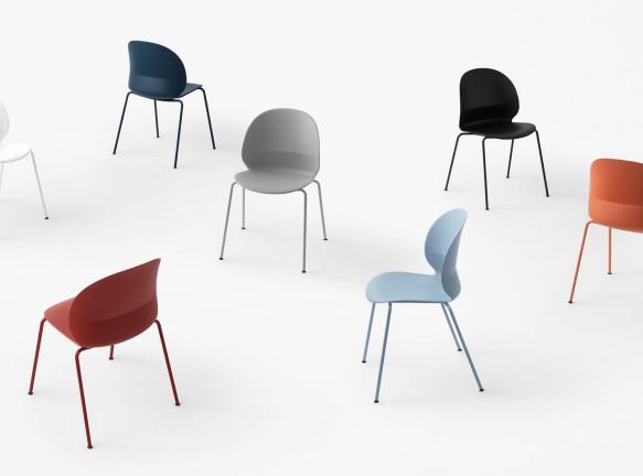 Экодизайн: 7 стульев из переработанного пластика