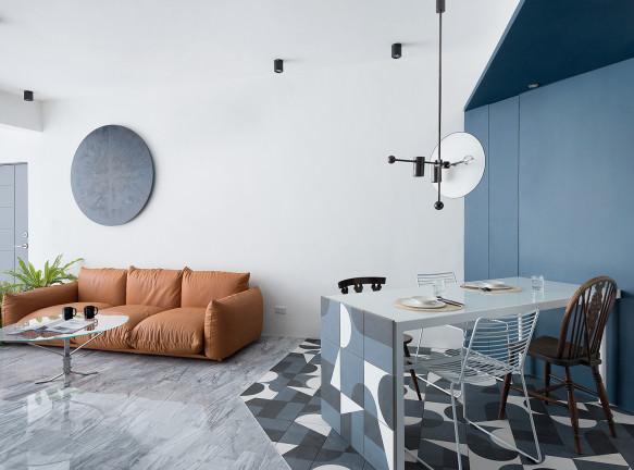 W & Li Design: квартира в Тайбэе