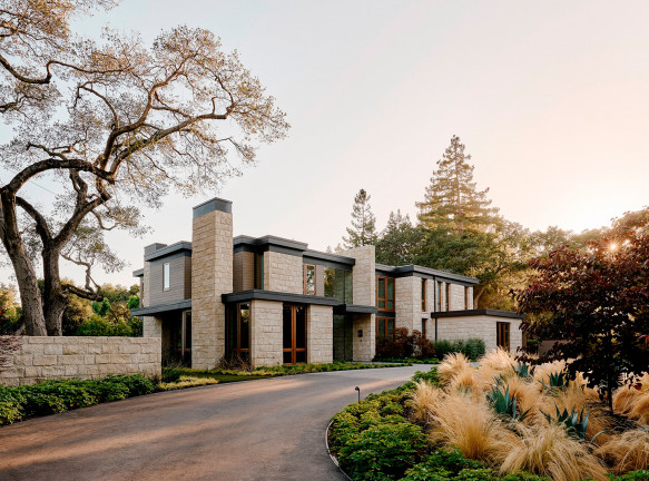 Pacific Peninsula Architecture и Leverone Design: семейный дом в Калифорнии
